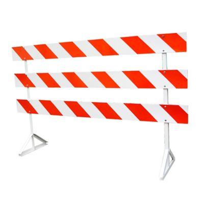 Barricada Metálica Con Reflectivo Grado Ingenieria 240x150cm