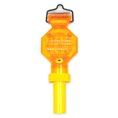 Flascher Luminoso Solar Con Bateria Recargable Amarillo