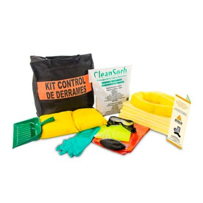 Kit Control Derrames Químicos de 5 a 8 Galones