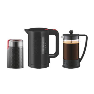 Cafetera 8Tazas +Hervidor 1 Litro +Moledor Bodum