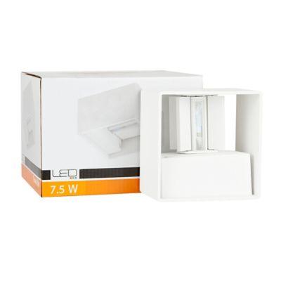 Aplique Led Exterior para Muro 250Im 7.5W 3000K Color Blanco