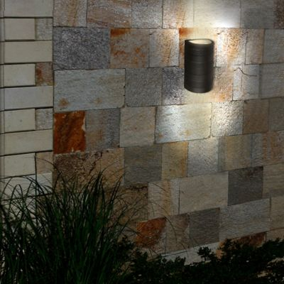 Aplique Led Exterior para Muro 300Im 6W 4000K Color Negro