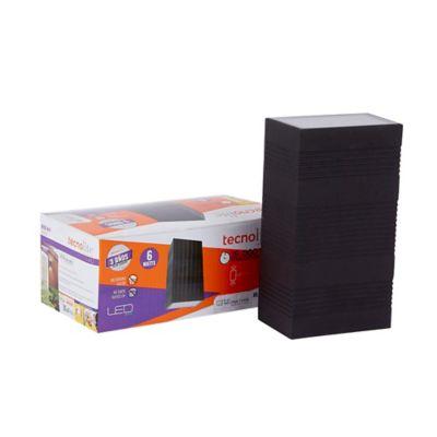 Aplique Led Exterior para Muro 300Im 6W 4000K Color Negro