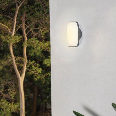Aplique Led Exterior para Muro 470Im 8W 3000K Color Gris