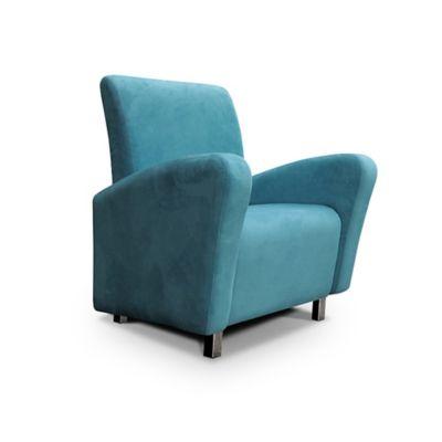 Poltrona Allegra Decorativa Azul PS30113