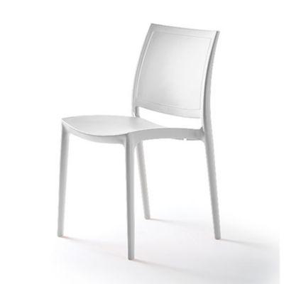 Silla Kyra Polipropileno Filtro UV Blanco