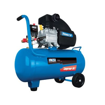 Compresor Profesional 50 Lts 2HP 115 PSI / 8 bar