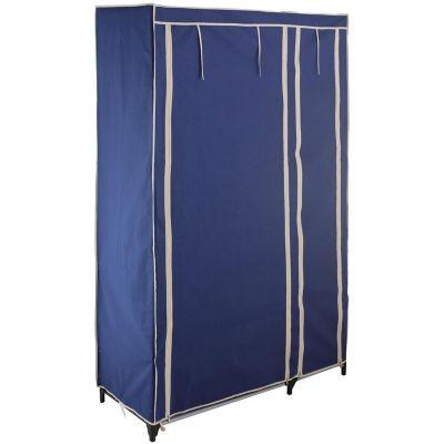 Closet De Tela Multifuncional 175x110x45 cm Azul