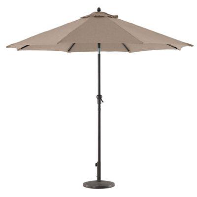 Paraguas Para Jardin Color Beige