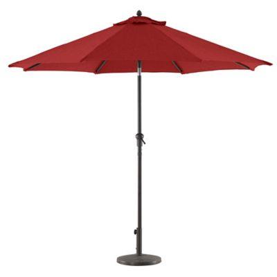 Paraguas Para Jardin Color Rojo