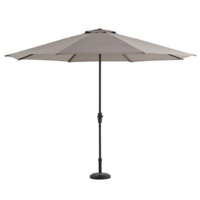 Paraguas Real Sunbrella Para Jardin Color Beige