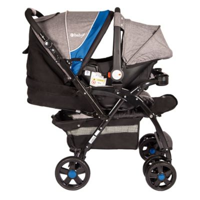 Coche Travel System Braviar 1092 Color Azul