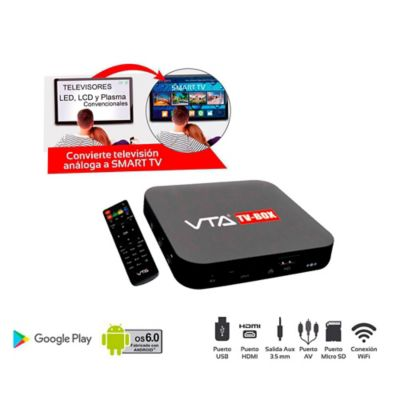 Box Convertidor Tv A Smart Tv Memoria 8Gb