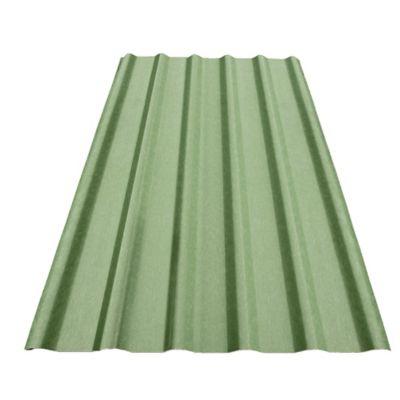 Teja Verde #8 Trapezoidal 2.44X0.94mt Polipropileno