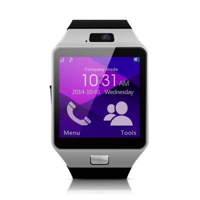 Smartwatch Homologado Bluetooth W201 Plateado