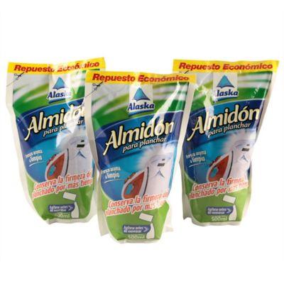 Alaska Almidon 500ml Doy Pack x3
