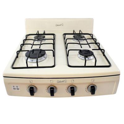 Estufa de Sobremesa 4 Puestos Aluminio Gas Propano Beige 4329
