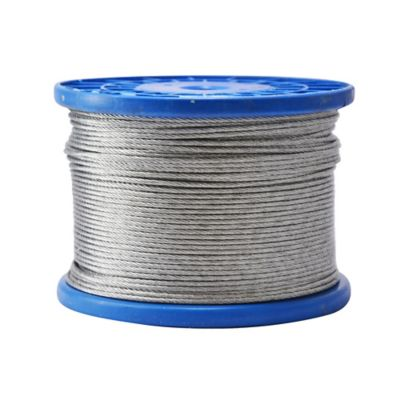 Carrete Cable Acero Galvanizado 3/32Pg 200M