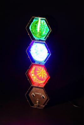Lámpara Fiesta 3 Luces LED Colores 4w