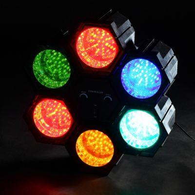 Lámpara Fiesta 6 Luces LED Colores 4w