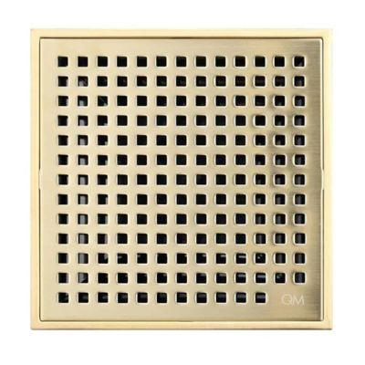 Rejilla Lineal Drenaje 10x10 cm  Mira Dorado