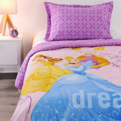 Comforter Semidoble 150 hilos Princesas Never Stop
