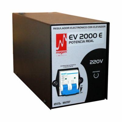 Regulador de Voltaje EV 2000E A 220VAC