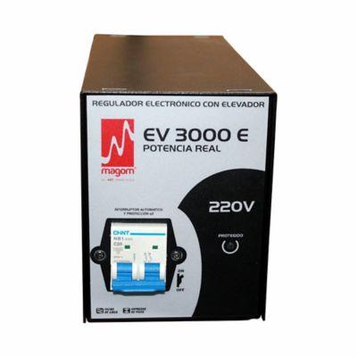 Regulador de Voltaje EV 3000E A 220VAC