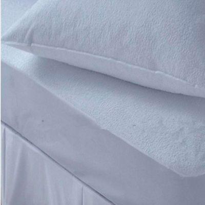 Protector de Colchón + 2 Protectores de Almohada Impermeable Semidoble
