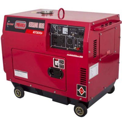 Generador Diesel Liviano Cabinado 5300W 10 Hp