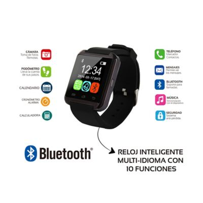 Reloj Inteligente Bluetooth Con Pantalla Táctil