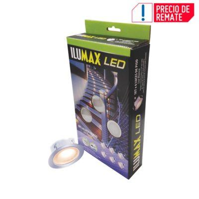 Set X6 Luces De Piso 0,4w c/u Luz Blanca