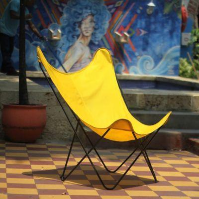 Silla Mariposa con Forro Impermeable y Proteccion UV Amarillo