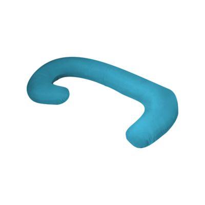 Almohada de Embarazo y Lactancia Cuerpo Completo Color Azul