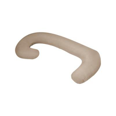 Almohada de Embarazo y Lactancia Cuerpo Completo Color Beige