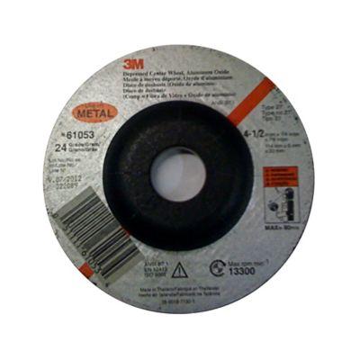 Disco Abrasivo Desbaste Metal 4-1/2X6mm C/Depr