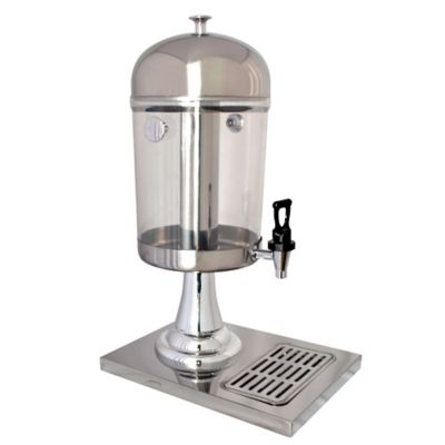Dispensador de Jugos Manual Tanque 7Lt Plateado DISP-SHJ10