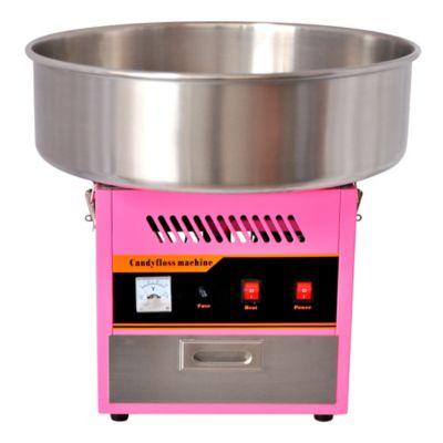 Máquina para Algodón de Azúcar Eléctrica 110V Rosado ALGO-SHA2