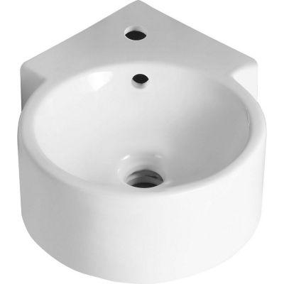 Lavamanos Porcelana Esquina A Muro 30x44x13