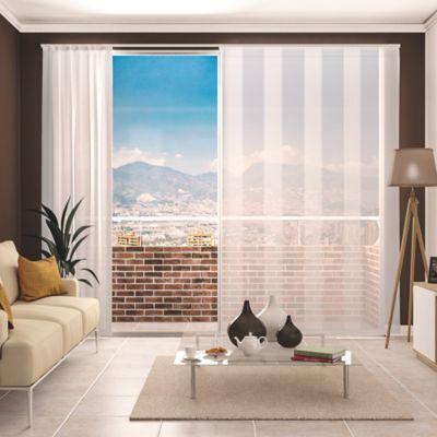 Set Riel Solera Blanco x200 cm