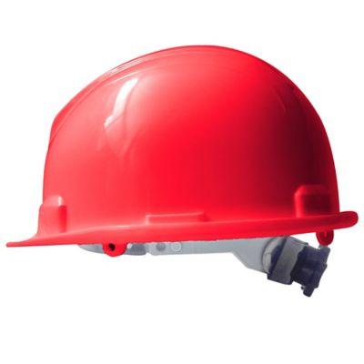Paquete X 4 Unidades Casco Eco Rojo Con Rachet