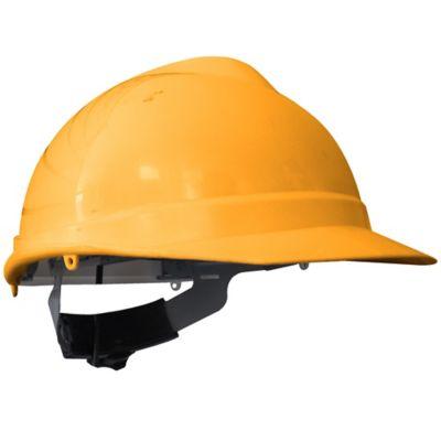 Paquete X 4 Unidades Casco Evo Pro Ejecutivo Ratchet Amarillo