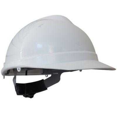 Paquete X 4 Unidades Casco Evo Pro Ejecutivo Ratchet Blanco