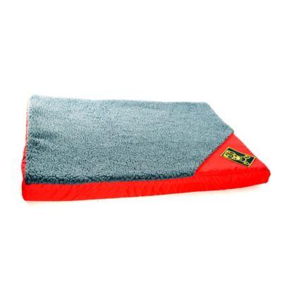 Colchoneta Tradicional de Peluche Grande 81x55cm Rojo
