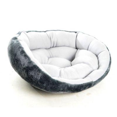 Cama Confort para Gato Gris