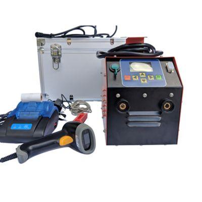 Equipo de Electrofusion 20-350mm (14 Pulg) + Raspador + Scanner + Impresora