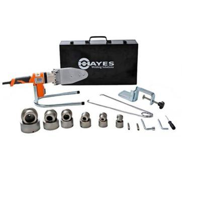 Kit Plancha de Termofusión Polifusor Digital 20-63mm (1/2-2 Pulg) Termofusora