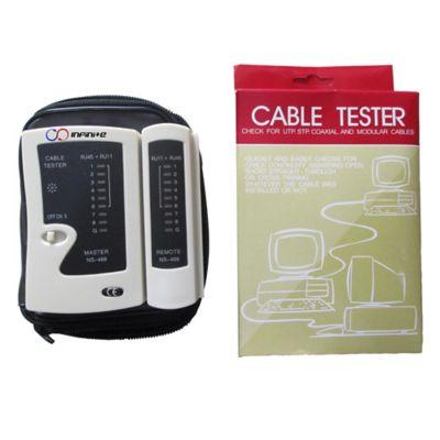 Polímetro Cable Tester Para Cables UTP 4 Pares 5E/6