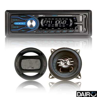 Combo Radio + Parlantes BT/USB/MP3
