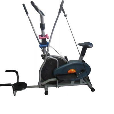 Elíptica Bicicleta Orbitrack Pectoral 8.2 Garh + Disco Cintura + Barras para Flexión + Bandas de Estiramiento + Mancuernas